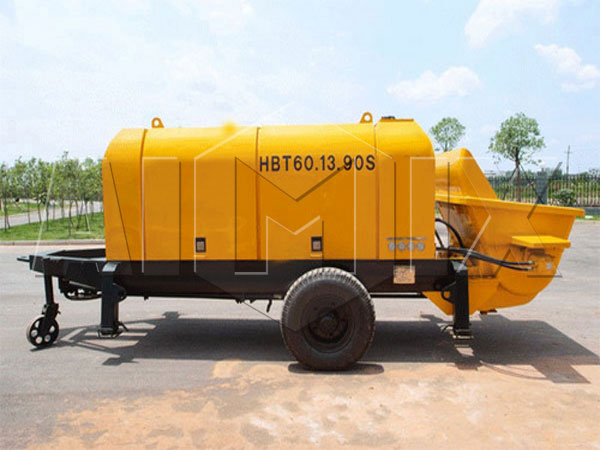 ABT60D electric engine trailer concrete pump