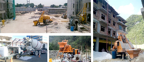 Aimix concrete pumps work all over the world
