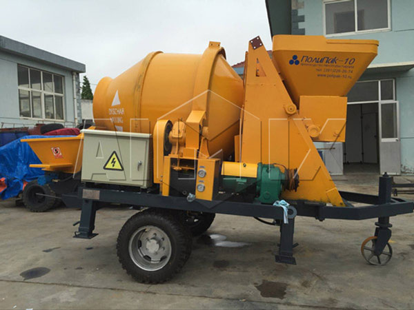 JBS30-JZC350 concrete mixer pump