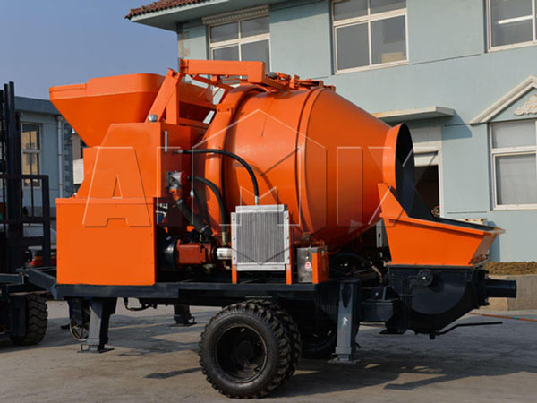JBS40-JS750 concrete mixer pump