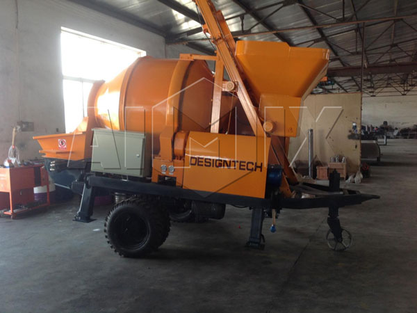 JBS40-JZC350 concrete mixer pump