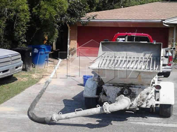 Trailer Concrete Pump Perfect Pumping Machine With