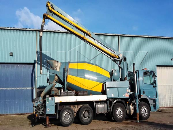 concrete mixer pump truck for sale