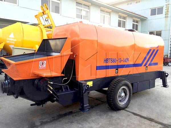 diesel ready mix concrete pump