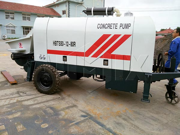 ready mix concrete pump