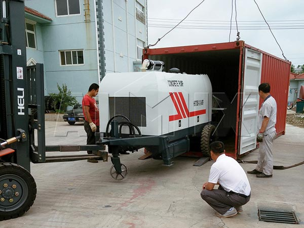 HBTS50-SR Was Transported To Indonesia