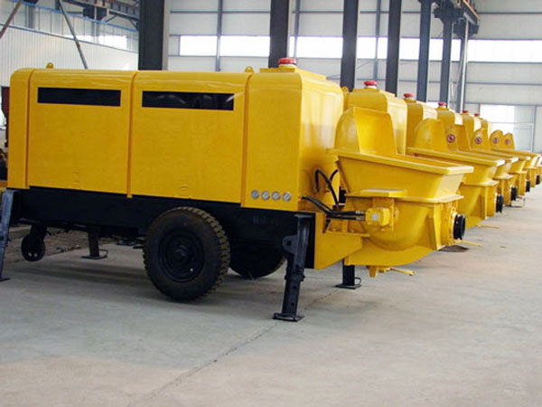 HBT50 electric ready mix concrete pump