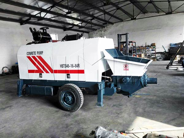 ABT40C diesel Ready Mix Concrete Pump