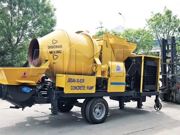 JBS40R concrete mixer pump