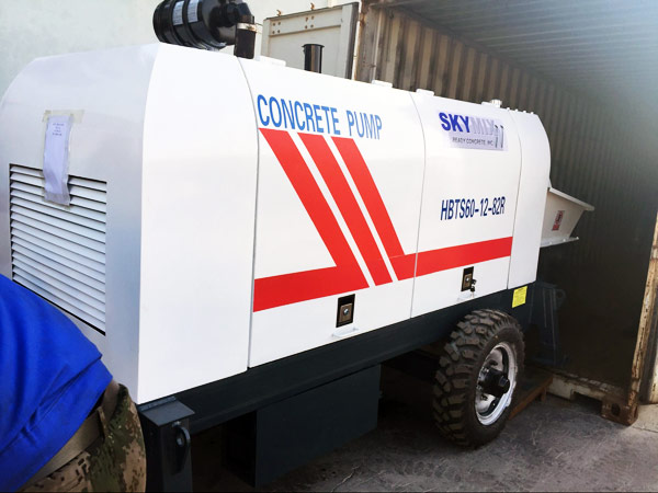 Concrete Portable Pump Ready to Fiji