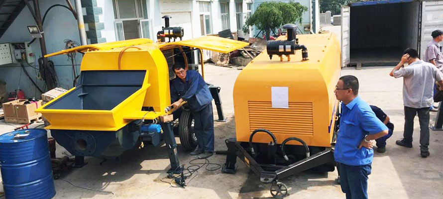 Portable Concrete Pump to Vietnam