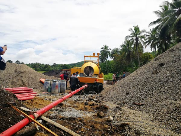 Concrete Pump in Philippine