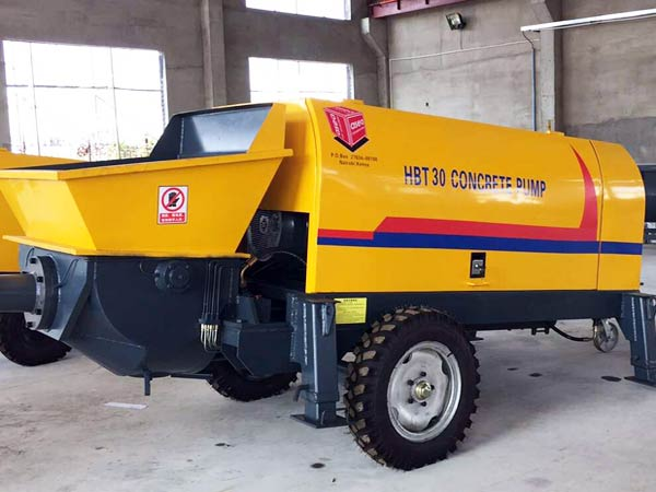 HBT30 mini concrete pump