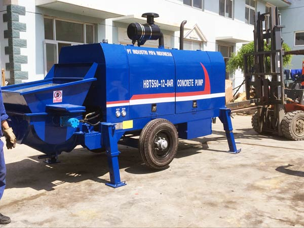 ABT50C concrete trailer pump
