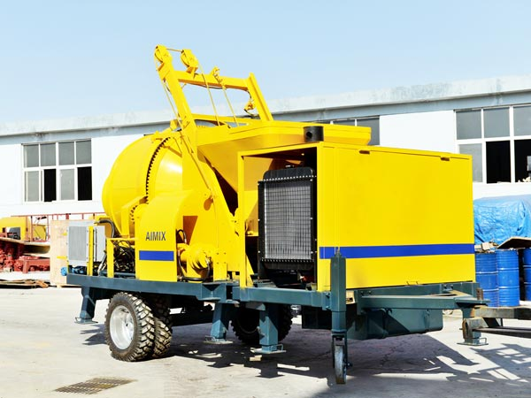ABJZ30C Small Diesel Mixer Pump