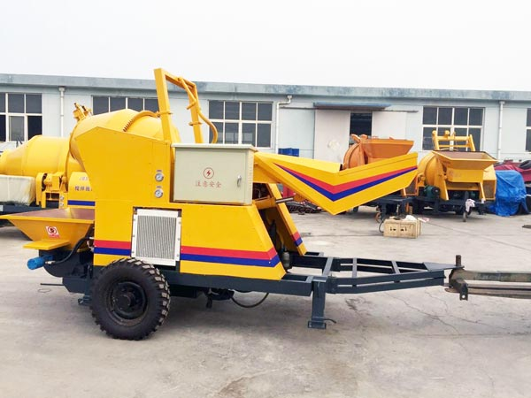 JBS10-JZC200 concrete mix pump