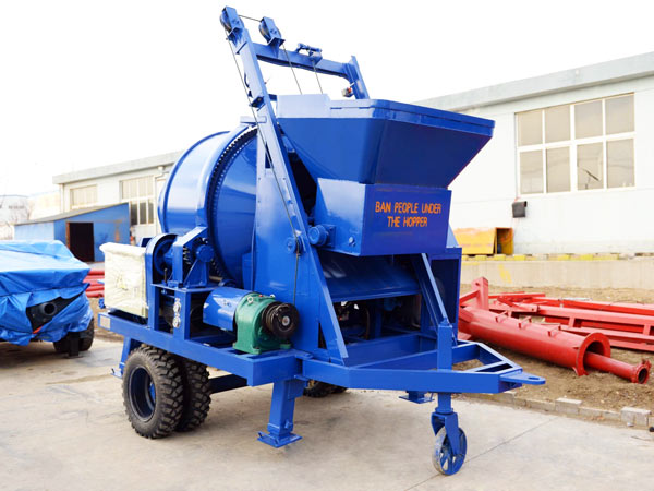 JBS40-JS500 concrete mixer and pump