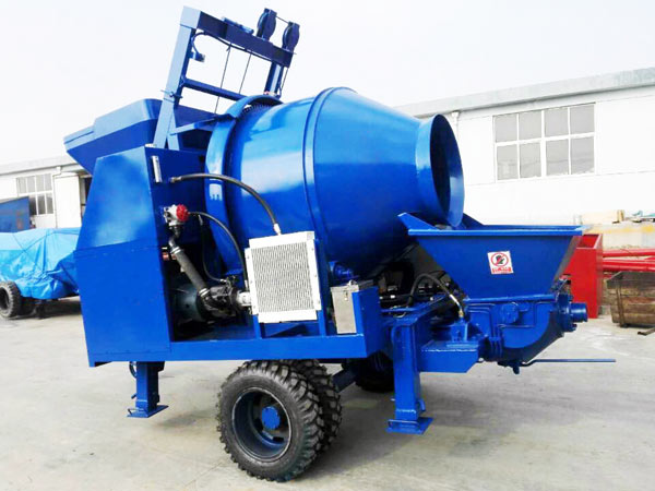 JBS40-JS500 concrete mix pumping equipment