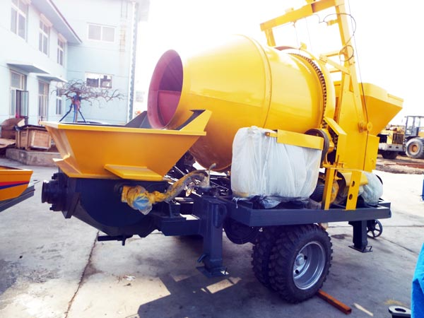 Concrete Mixer Pump in factory