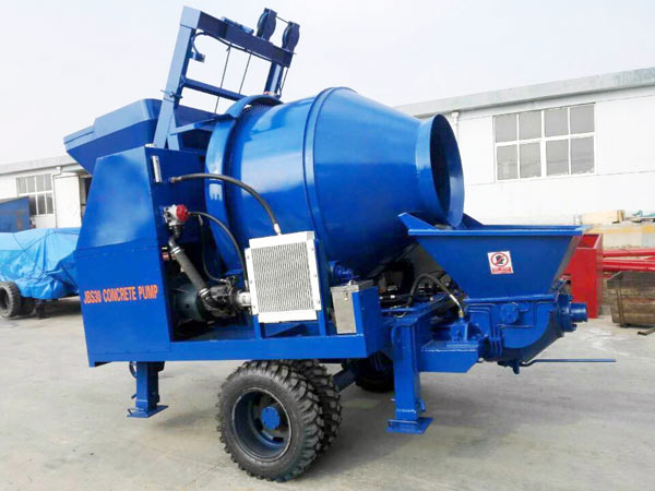 JBS30-JZC350 concrete pump with mixer for sale