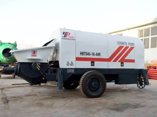 concrete trailer pump sale