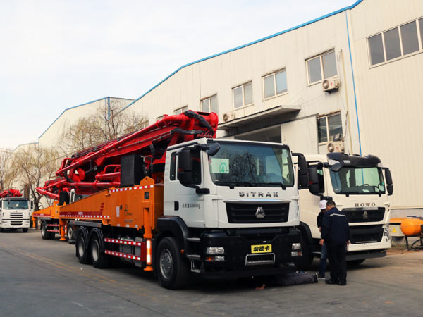 KNL5340THB 44-5RZ Concrete Boom Pump for Sale