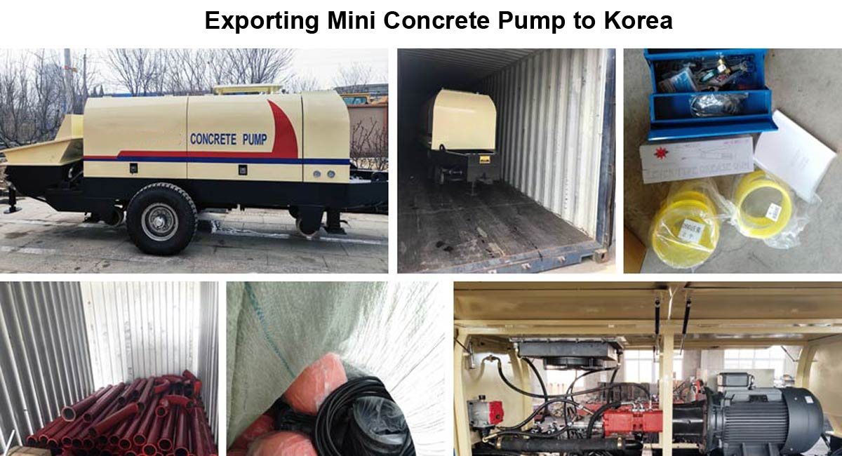 Exporting Mini Pump to Korea