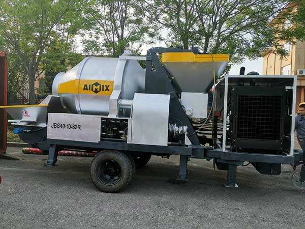 JB40R concrete mixing pump