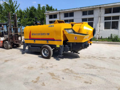 Exporting Concrete Pump to Malaysia