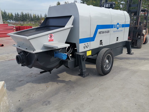 Deliver ABT40C Portable Concrete Pump to Indonesia