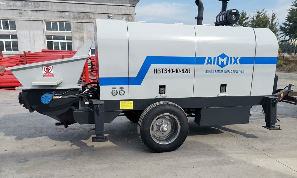 Mini Trailer Pump