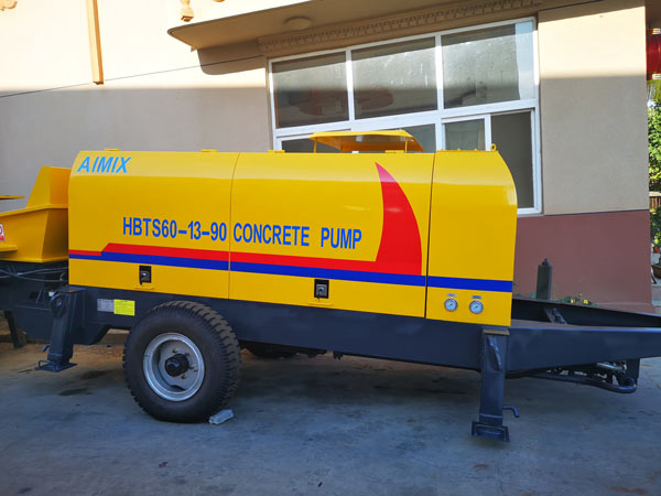 ABT60D Electric Trailer Concrete Pmp