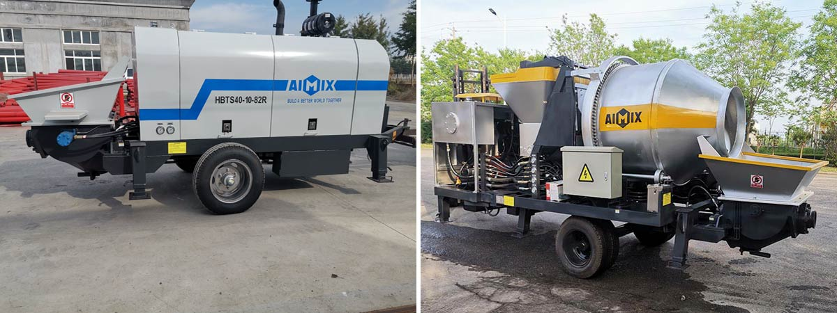 Small concrete pump sale