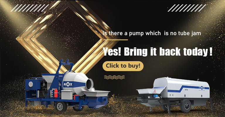 aimixmall concrete mix pump