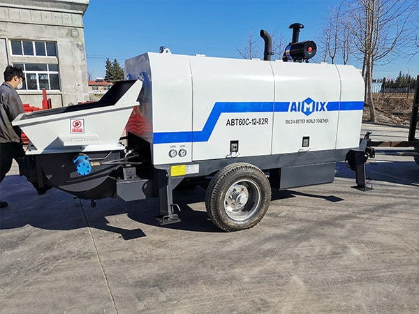 ABT60C Portable Concrete Pump