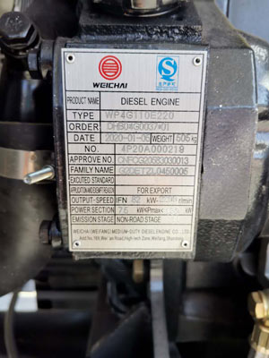 Concrete Pump Diesel Engine