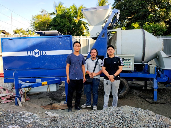 Testing Mixer Pump in The Philippines