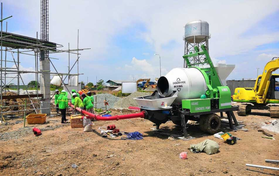 ABJZ40C Cement Mixing Pump