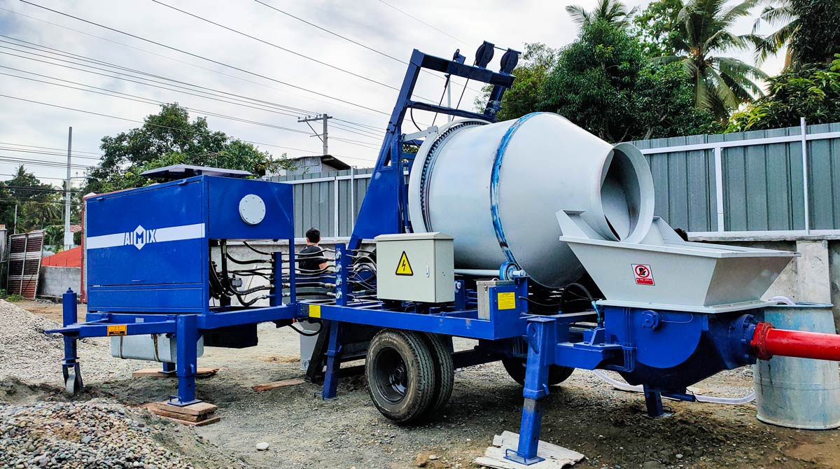ABJZ40C Portable Concrete Mixer Pump